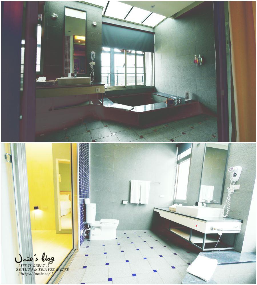 宜蘭礁溪溫泉旅館情侶湯屋推薦!NO.9 九號溫泉旅店,超大溫泉池|乾淨|舒適