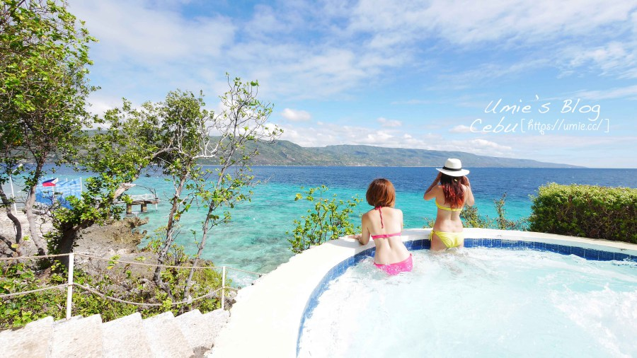 菲律賓宿霧|海島渡假推薦!掉進天堂裡,絕美一島一飯店,藍水蘇米倫島度假村 Bluewater Sumilon Island