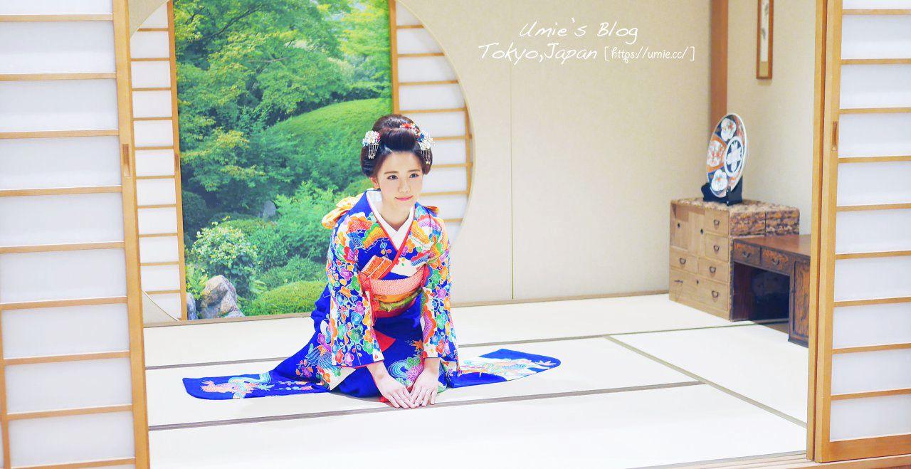 東京淺草寺穿和服,着物體驗推薦店家|夢写楽(夢寫樂),妝髮全包,完全變身日本女人! (武士、花魁體驗也有!)