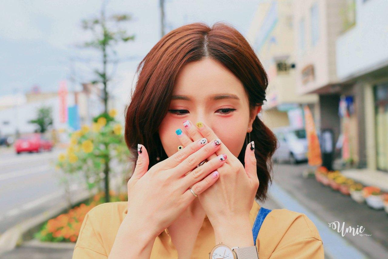 台北中山區光療指甲推薦 |超可愛糖果色迪士尼TsumTsum手繪款來了!