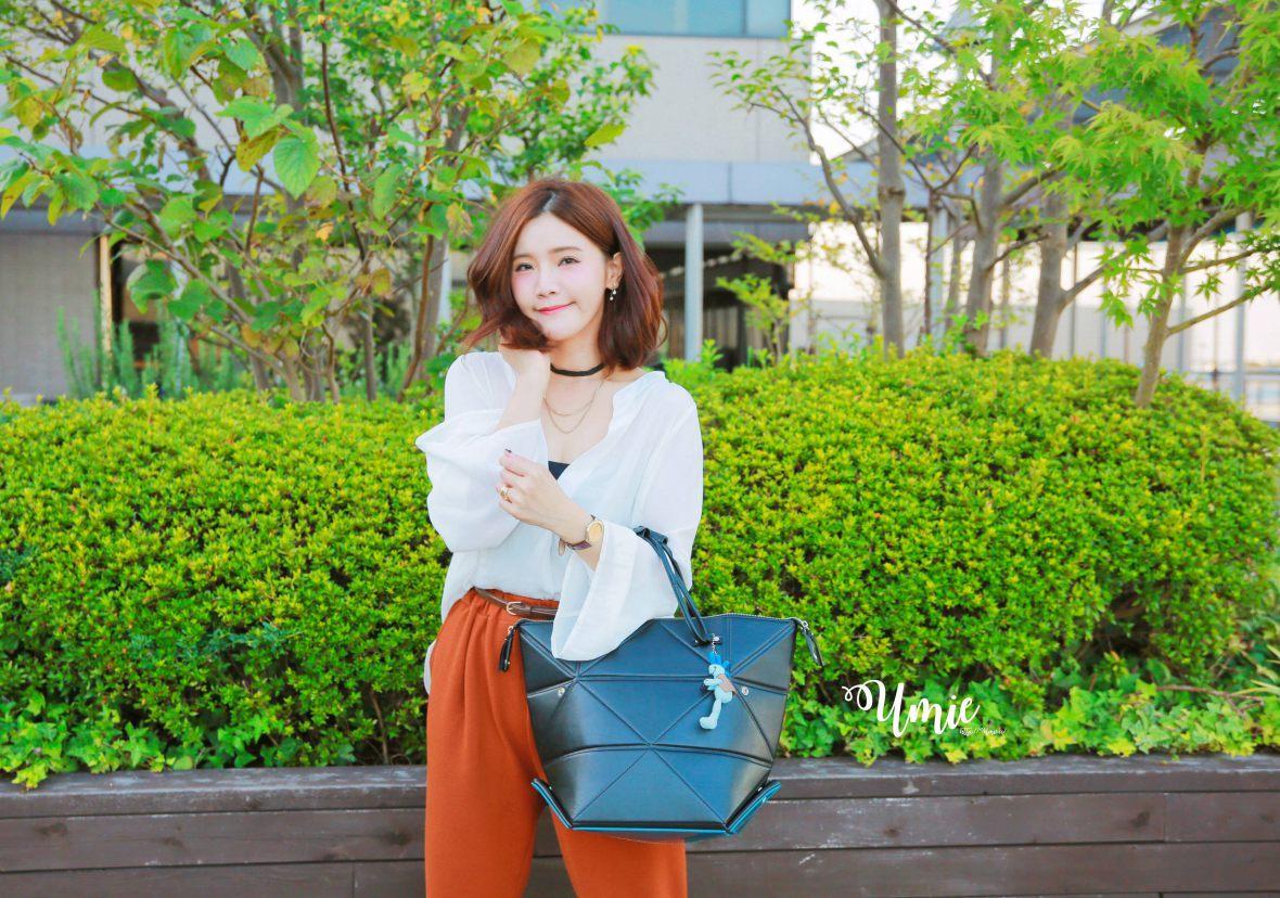 日本精品必買|一見鍾情!我的第二個日本精品包 Hanaa-fu Aries 開箱穿搭 :D