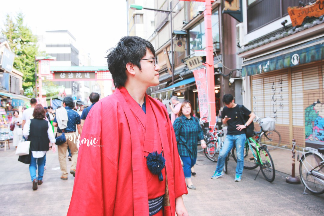 東京淺草寺穿和服體驗| 淺草愛和服二訪!會說中文超便宜!包含免費頭髮造型、免費頭飾!