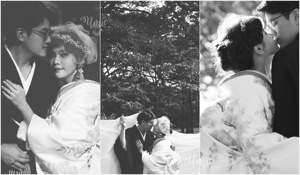 我的復古黑白婚紗照攝影師推薦 (monochrome film) (CULWA Bridals Photo Wedding)