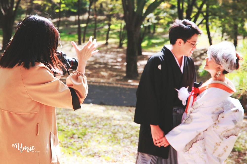 日本和服婚紗色打掛| 我的復古黑白婚紗照 (monochrome film) (CULWA Bridals Photo Wedding)