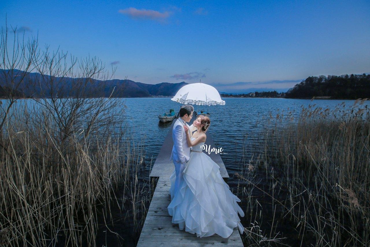 日本海外婚紗推薦 | 德可莉日本專業婚紗攝影| 我們的富士山旅行婚紗!(成品照分享!)