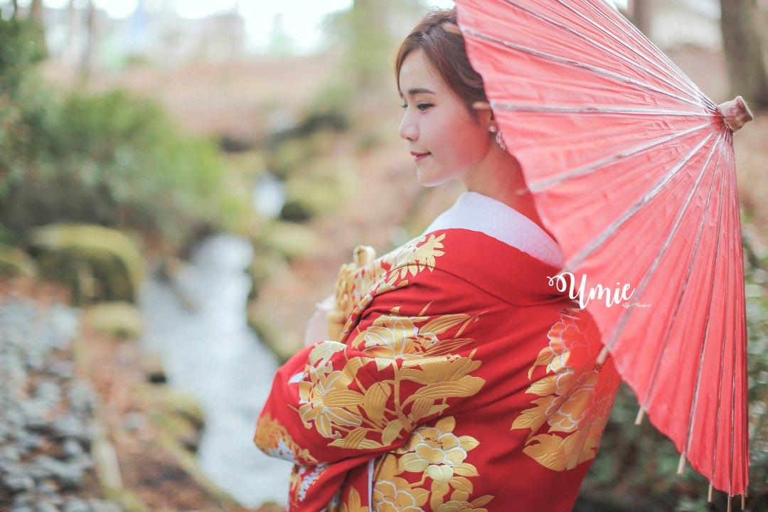 日本海外婚紗推薦 | 德可莉日本專業婚紗攝影| 富士山日本傳統和服色打掛婚紗!
