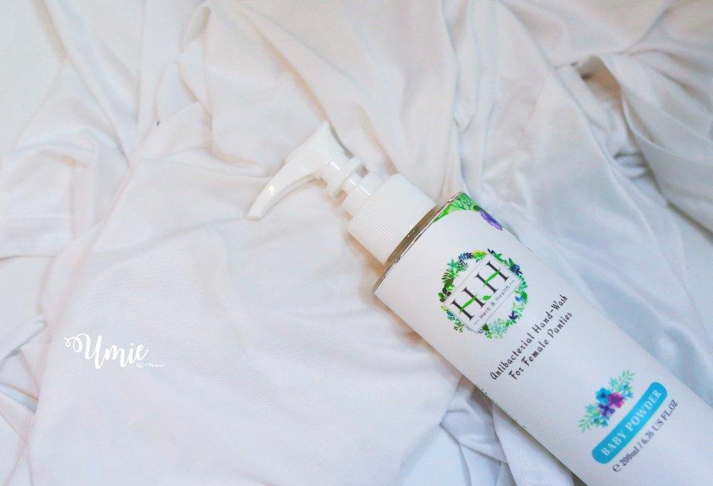 私密處保養推薦| HH 私密潔淨舒緩噴霧,用天然草本成份來照顧私密肌 :)
