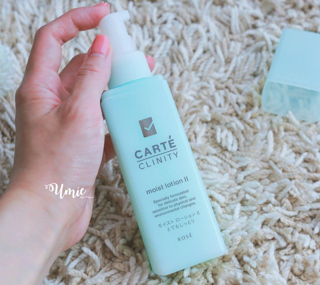 敏感肌保養品牌推薦|日本KOSE 可潤媞CARTÉ CLINITY | 低刺激性的敏感肌保養!