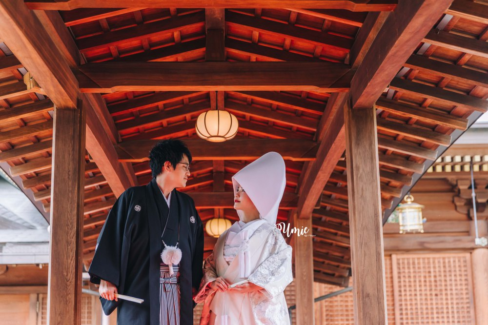 台日國際結婚、日台夫妻、國際結婚、日本神前式婚禮、日本人男友、日本人老公。和日本人結婚