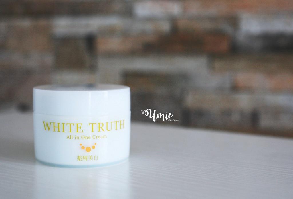 日本美白保養品推薦 White Truth all in one 光感淨透美白凝凍,一瓶抵 7 瓶!