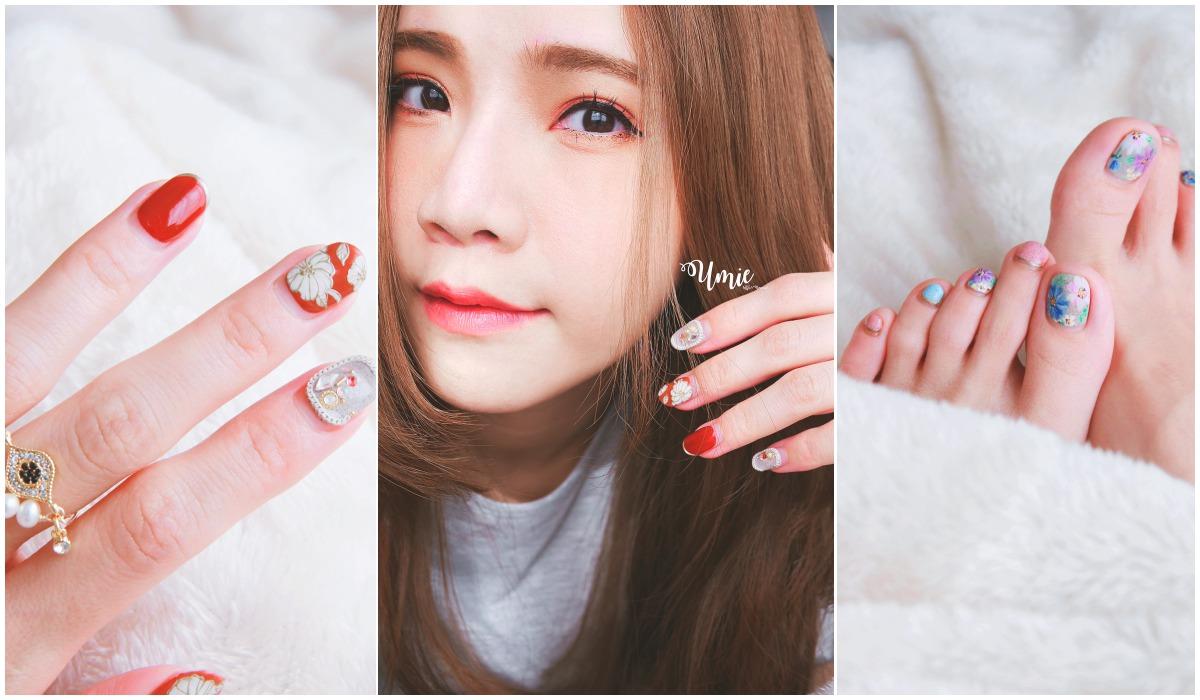 台北中山區光療指甲推薦 |Nail Me by venus nail salon 指甲也要換上新年氣氛!