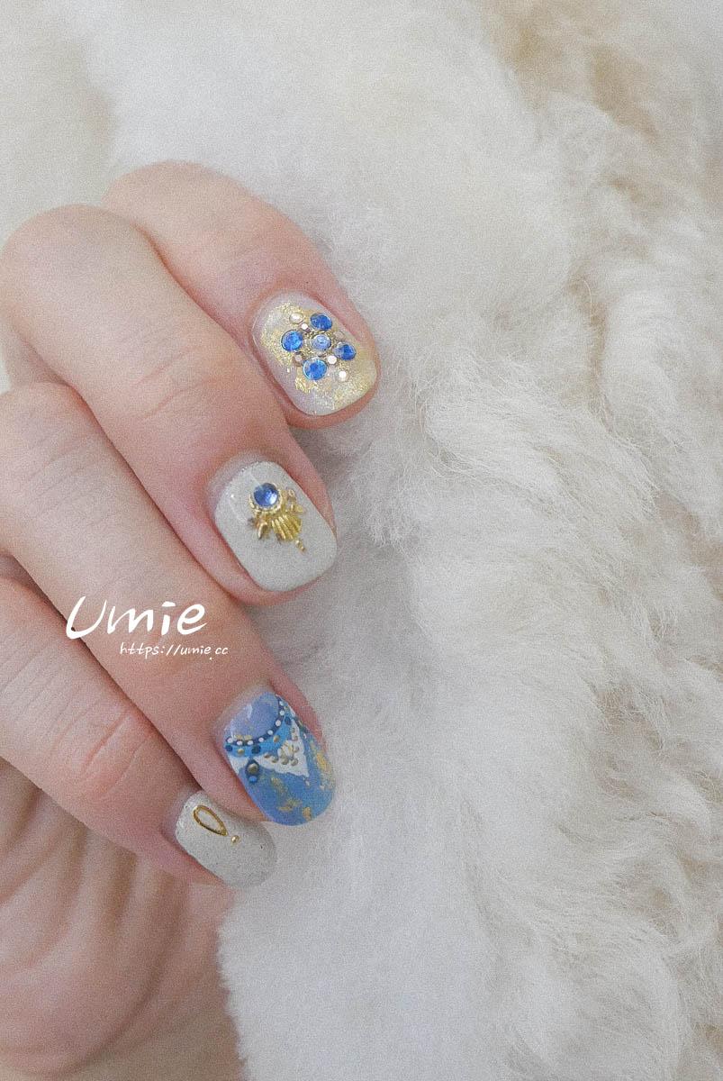 台北中山區光療指甲推薦 | 華麗又淘氣的秋冬篇 Nail Me by venus nail salon