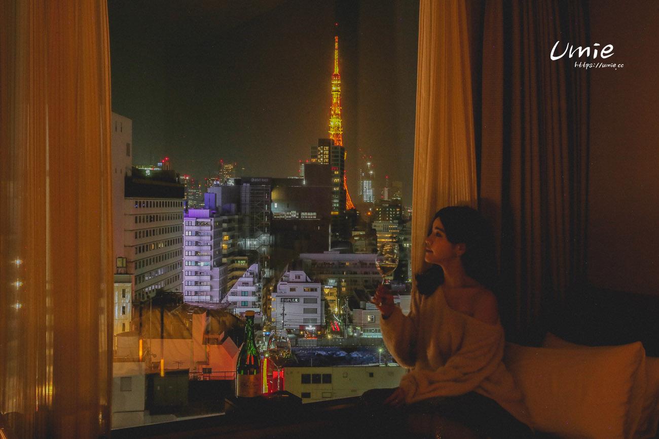 東京六本木情侶約會飯店推薦|光芒飯店 Candeo Hotels|東京鐵塔景色、六本木市景、好吃早餐!
