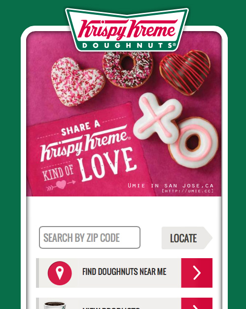 2014 Krispy Kreme in California