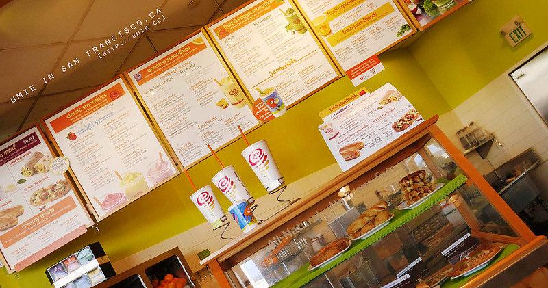 美國自助旅行-加州|紐約必吃推薦!Jamba Juice 水果冰沙奶昔飲料,讓我念念不忘的Smoothies!