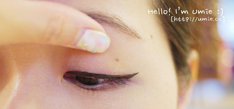 妝容教學-只要4步驟!改善下垂眼型,單眼皮/內雙眼妝、眼線如何化!彩妝初學者必看!