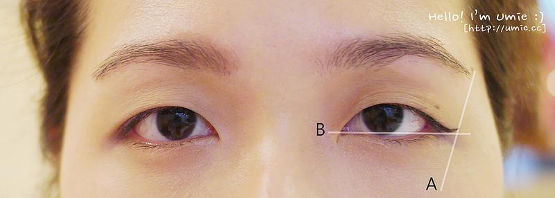 201409 修飾下垂眼型 妝容