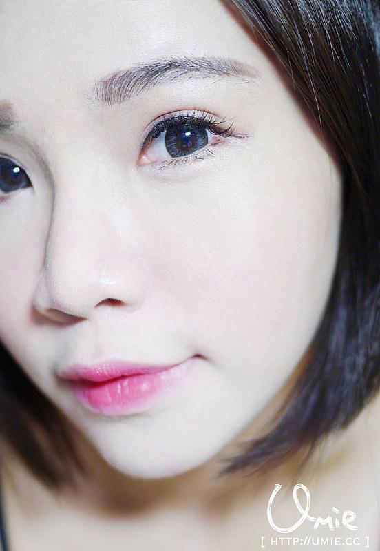 20140916 Lip makeup 咬唇妝/無邊際唇妝