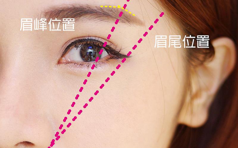 20150217 英氣眉 彩妝影片教學文