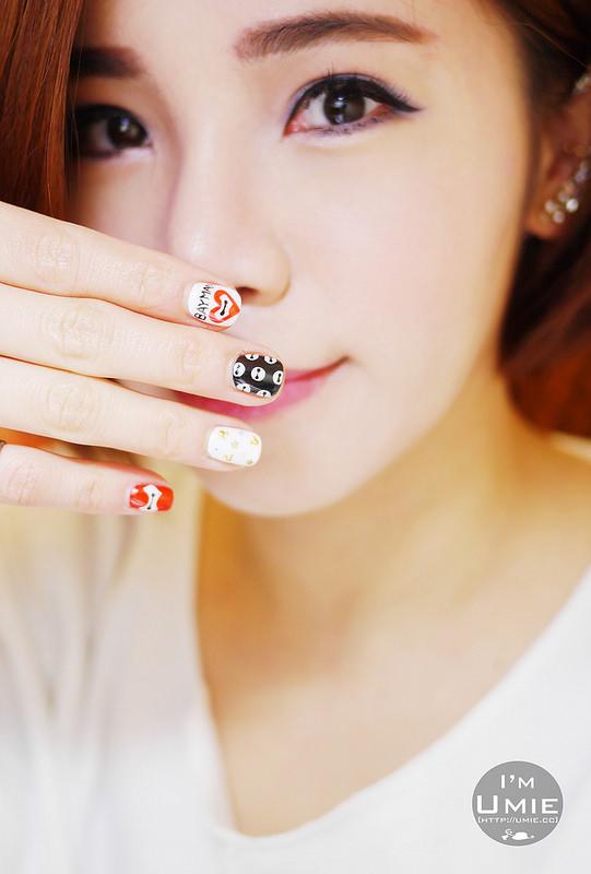 20150308 baymax nail