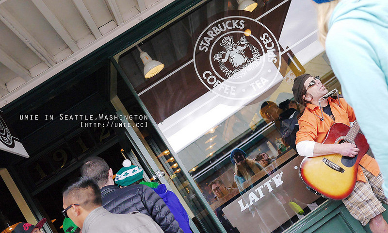 20140316 全世界第一家星巴克 First Starbucks at Seattle,Washington,USA 西雅圖