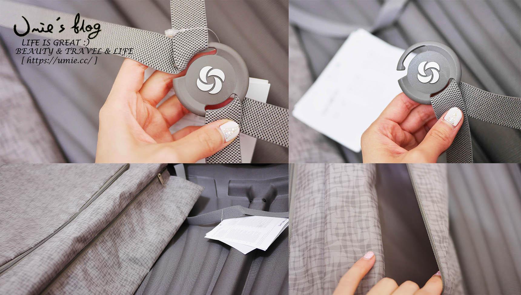 選購行李箱必看 3 重點|如何設定 TSA 密碼鎖!同場加映開箱:史上最輕旅行箱 Samsonite Cosmolite Lite-locked 極輕硬殼貝殼箱 :D